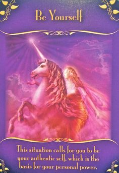 oracle card, unicorn, fairy, pink energy, passion, pure love