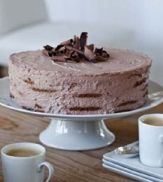 Barefoot Contessa - Recipes - Mocha Chocolate Icebox Cake