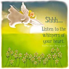 shhh.... I am listening!!