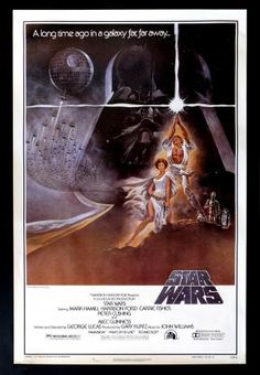 The best Star Wars movie posters! This Star Wars 'A New Hope' poster is one of my favorites! The Star Wars movie poster artist Drew Struzan has worked on the Star Wars poster art and created some masterpieces! Star Wars Film, Star Wars Poster, Star Wars Episódio Iv, Star Wars Watch, Star Wars Art, Harrison Ford, Original Movie Posters, Film Posters, Original Star Wars Movie