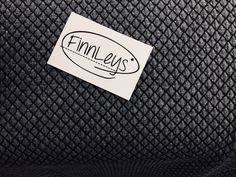 Bio-Stoffe - Albstoffe - Diamond Knit schwarz/carbon GOTS - ein Designerstück von Finnleys_Stoffe bei DaWanda