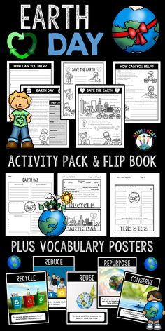 Save Our Earth Day Activity Pack