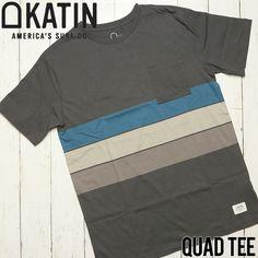 [クリックポスト対応] KATIN ケイティン QUAD TEE ポケット付きTシャツ KNQUA01 | BRAND,KATIN | LUG Lowrs