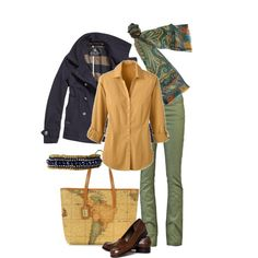 A fashion look from January 2013 featuring Scotch & Soda coats, Goldsign jeans and Talbots loafers. Browse and shop related looks.