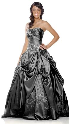 Gothic Ball gown Bridal Gowns Wedding Dress Formal dresses Custom made