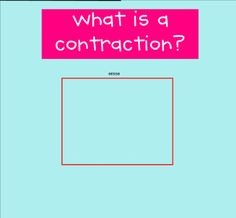 This is an introduction to contractions with activities reinforcing the concept.  Resource type:SMART Notebook lesson  Subject: English Language Arts  Grade: Grade 2, Grade 3, Grade 4, Grade 5