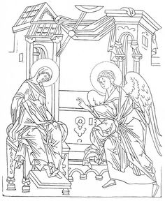 Drawings, Engraving, Painting, Orthodox, Art, Cartoon, Black And White, Color, Byzantine
