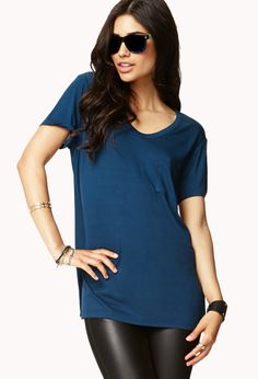 Classic Pocket Tee   FOREVER21 - 2059812518