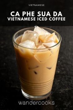 Vietnamese Iced Coffee - Cà Phê Sữa Đá - Learn how to make Vietnamese Iced Coffee at home and enjoy this delicious chocolatey, smooth and super addictive pick-me-up. Ready to drink in 5 minutes! Easy Asian Recipes, Vietnamese Recipes, Indian Food Recipes, Vietnamese Food, Australian Pavlova Recipe, Australian Food, Iced Coffee At Home, Coffee Coffee, Coffee Break