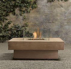Restoration Hardware Outdoor Fire Table