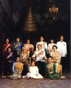 The Royal Family of Thailand, headed by His Majesty King Bhumibol Adulyadej, Rama IX, who is the ninth monarch of the Chakri Dynasty and the current King of Thailand. ♥♔♥♔LONG LIVE THE KING♥♔♥♔ http://islandinfokohsamui.com/