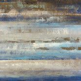 Found it at Wayfair - Blues Horizon by Michael Longo Painting Print on Wrapped Canvas