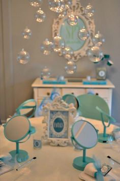 {Real Parties} Spa: Relaxing Day with Ava on http://frogprincepaperie.com