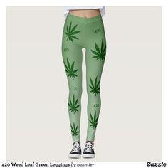 420 Weed Leaf Green