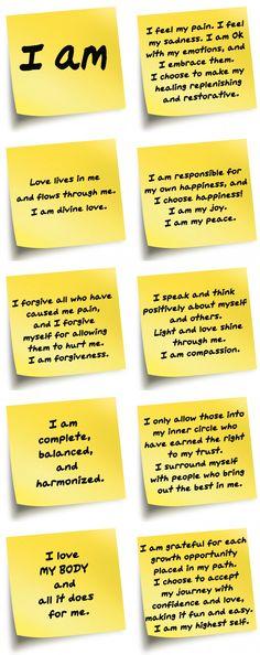 affirmations_fullyraw I Am Statements, Manifestation Journal, Abraham Hicks Quotes, Bible Prayers, Live Love, Better Life, Forgiveness, Self Love, Affirmations