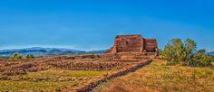 """""""La Mission de Nuestra Senora de Los Angeles.""""  Pecos National Historic Park. New Mexico."""