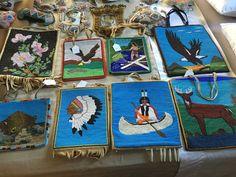 Native American Flat Beaded Bag - Stunning Bead work | eBay