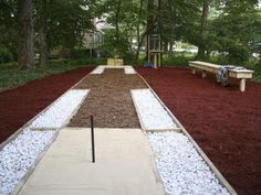 Build a Horseshoe Court : A horseshoe pit is always a winner when it comes to backyard entertaining.