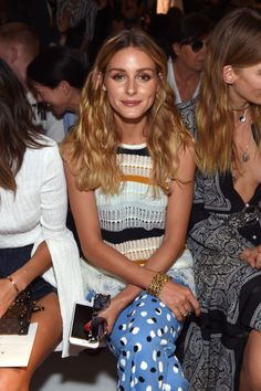 Olivia Palermo Photos Photos - Olivia Palermo attends the Altuzarra fashion show…