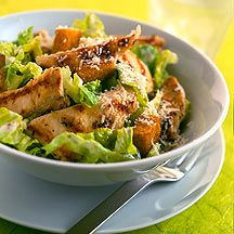 weight watchers chicken caesar salad! YUM!