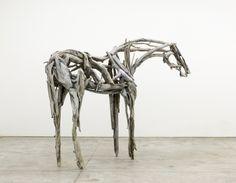 Deborah Butterfield; Big White; 2017; Sculpture