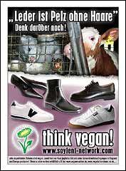 Flyer: Leder ist Pelz ohne Haare!