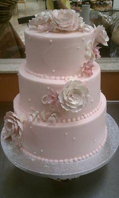 Pink Elegance. #weddingcake