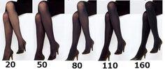 黑絲襪就是性感的代表 日本網友認為最佳的纖維丹尼是... - 圖片4
