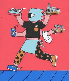 new food illustration