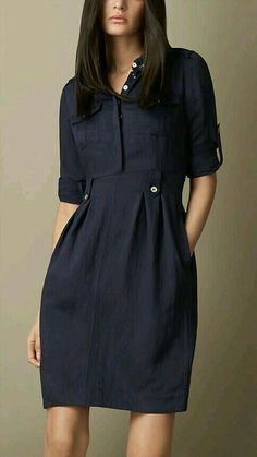 Women's Blue Heritage Tulip Dress