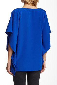 Vince Camuto Front Keyhole Poncho