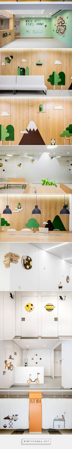 Parc d'Atencions, Hospital Vall d'Hebron Barcelona by Toormix - created via http://pinthemall.net