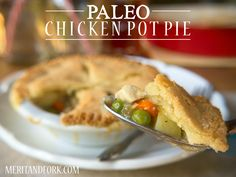 Chicken pot pie: quite possibly the epitome of comfort food and hands down one of my favorite meals ever. I've ordered chicken pot pies at hip & fancy