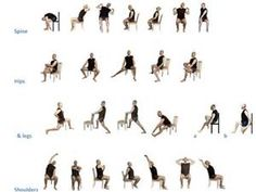 printable Chair Exercises For Seniors - Bing Images