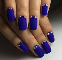 Squoval nails are same as square nails that have oval edges. Explore the trendiest squoval nail designs handpicked just for you. Fabulous Nails, Gorgeous Nails, Amazing Nails, Amazing Art, Trendy Nails, Cute Nails, Hair And Nails, My Nails, Polish Nails