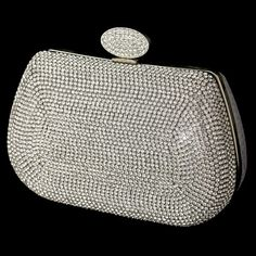 Evening Bag, Rhinestone Purses, Bridal, Wedding, Evening | A Moment In Time Boutique