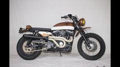 Bare Bone Rides Custom Harley Davidson Xl1200 Evo Sportster Scrambler Build Sportster Scrambler Harley Scrambler Custom Harleys