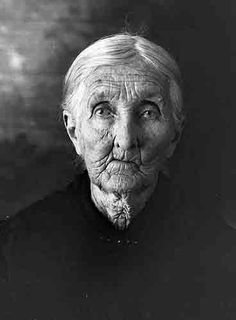 Wrinkled Old Woman by jbpics, via Flickr