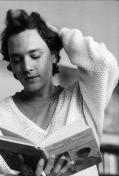 Andrew McCarthy, 1985. One of my all time favorites. Even today he is a travel writer and I love reading his material. http://www.andrewmccarthy.com/writing.php