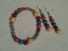 Bracelet set for only $7.99 Great gift idea!  https://www.etsy.com/listing/217368068/pastel-bubbles-bracelet-set