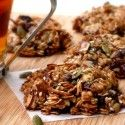 Oat-Nut-Cherry-Chip Granola Breakfast Cookies