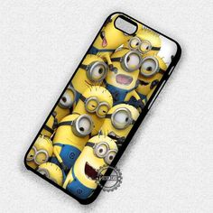 Happy Minion Family Despicable Movie - iPhone 7 6s 5c 4s SE Cases & Covers