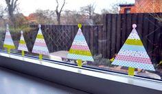 Déco de Noël en masking tape DIY