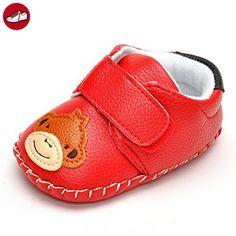 Infant Animal handgefertigt Crib Shoes, Rot - rot - Größe: 12-18 monate - Kinder sneaker und lauflernschuhe (*Partner-Link)