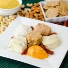 Nut Cheese Sampler #veganthanksgiving