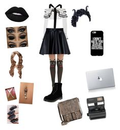 """""""meeting the turtles"""" by lilly-n-hood-sos on Polyvore featuring Proenza Schouler, MSGM, Dr. Martens, Impossible, Lime Crime and Patricia Nash"""
