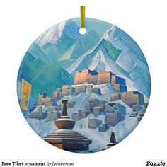 Free Tibet ornament