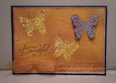 designed by Caroline Duncan ~ stampingsandinklings.blogspot.com Heartfelt Creations