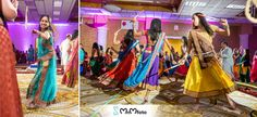 Dandia Garba dance. Indian wedding photographer www.MnMfoto.com
