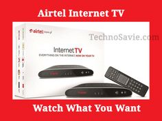 streaming tv: Airtel Internet TV: Watch What You Want Tv Watch, Internet Tv, Techno, Watches, Digital, Phone, Telephone, Wristwatches, Clocks